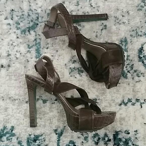 Donald J. Pliner Shoes - Lisa for Donald J. Pliner Snakeskin Platform Heels